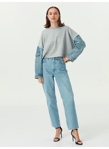 Twist Sweatshirt Gri